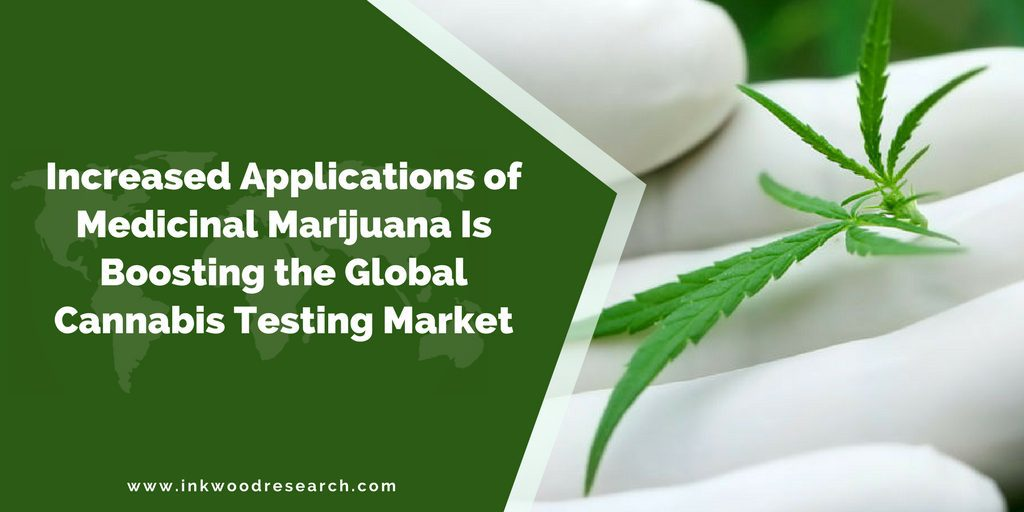 INCREASED APPLICATIONS OF MEDICINAL MARIJUANA IS BOOSTING THE GLOBAL CANNABIS TESTING MARKET