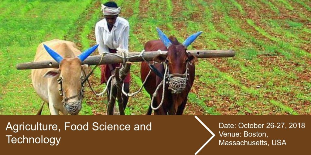 Agriculture, Food Science and Technology Conference 2018