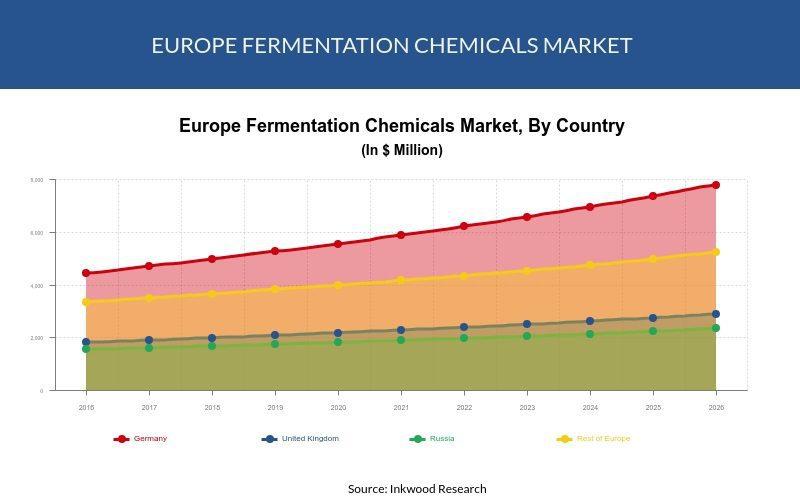 Europe Fermentation Chemicals Market