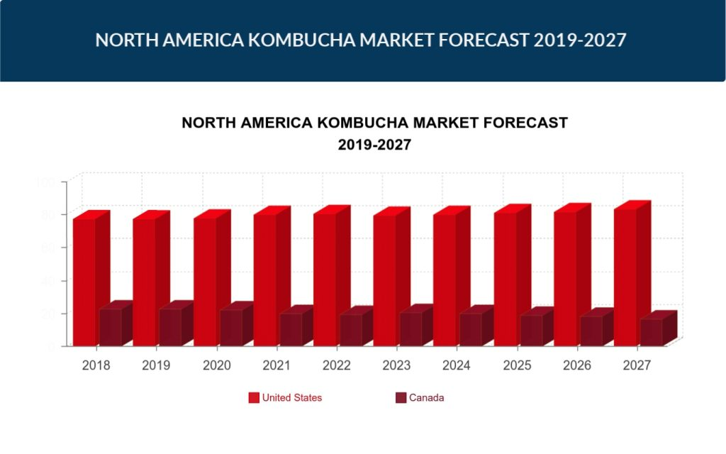 North America Kombucha Market